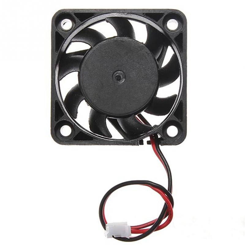 High Qualirty <font><b>5V</b></font> 2 Pin <font><b>40mm</b></font> Computer Cooling Small <font><b>Fan</b></font> PC Black Cooler Computer Peripherals image