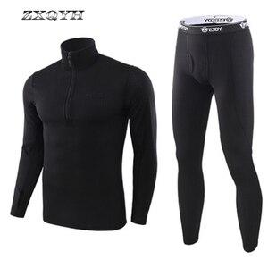 Image 2 - ZXQYH ความร้อนฤดูหนาวผู้ชายชุดทหารยุทธวิธี Uniform กีฬากลางแจ้งเสื้อผ้าที่อบอุ่นเสื้อ + กางเกงชุดชุด