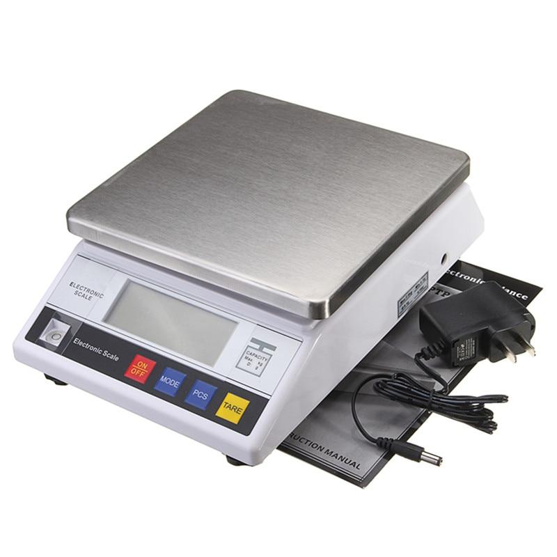 7500g x 0.1g Mini Balance de bijoux numérique Balance électronique Balance de cuisine alimentaire poches Balance de poids - 4