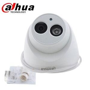Image 3 - Dahua IPกล้องIPC HDW4433C A 4MP HD POE IR 30M Night Vision Starlight Camara MINI Dome Built in micกล้องเครือข่าย