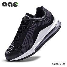 נוטה אוויר כרית לגברי גברים נעליים יומיומיות רשת לנשימה ספורט ריצה נעלי שרוכים נעלי Tenis Masculino Adulto