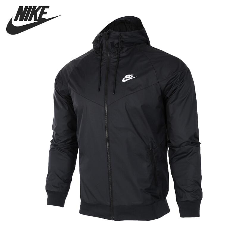Original New Arrival NIKE AS M NSW WINDRUNNER Sportswear Men's Jacket Hooded Sportswear 727325-010