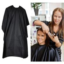 Schwarz Friseur Cape Professional Hair-Cut Salon Barber Tuch Wrap Schützen Kleid Schürze Wasserdichte Schneiden Kleid Haar Tuch Wrap