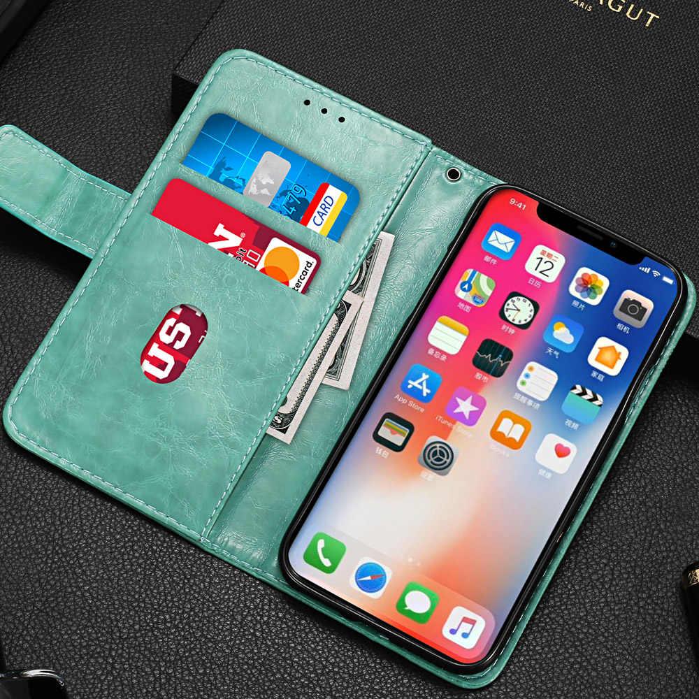На Galaxy A10 бумажник чехол для samsung Galaxy A10 A20 A30 A40 A50 A70 A6 A7 A8 A9 J3 J4 J5 J6 S9 S10 плюс 5G чехол с цветочным рисунком