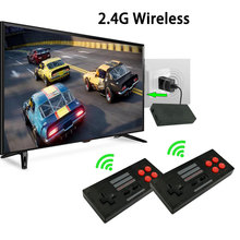 Built-in 620 8Bit Classic Games Video Game Console Mini Retro Console Wireless Remote Controller AV Output Dual Players Dropship