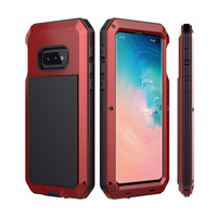 Waterproof Shockproof Heavy Duty Phone Case Silicone Suitable With Tempered glass For S10E