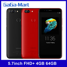 S5 k520 rosto id lte 5.7 polegada fhd + 18:9 4g 64g octacore android 8.0 traseira dupla 13mp + frente 16mp 4k vídeo