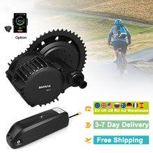 BAFANG BBSHD 1000W 48V silnik Ebike z wyświetlaczem LCD Mid Drive zestawy do konwersji roweru elektrycznego z akumulatorem 48v 17.5Ah/13Ah/12Ah