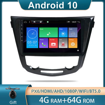 Bosion car radio For Nissan X-Trail xtrail X Trail 3 T32 2013 - 2017 Qashqai 2 J11 Car GPS Multimedia Video Player Navigation image