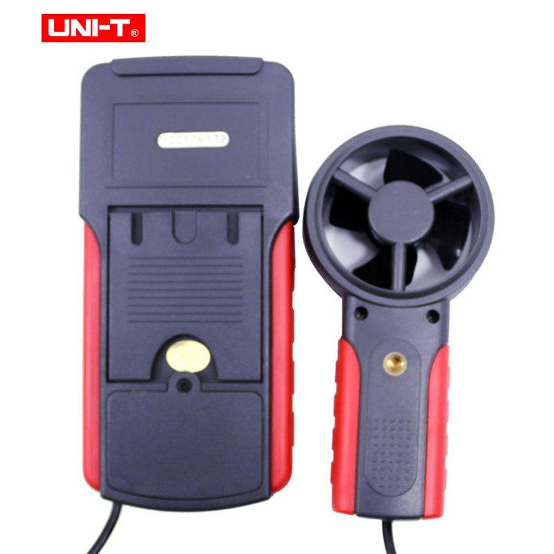 UNI-T UT361 UT362 Profession compteur de vitesse du vent numérique tachymètre Anemoscope 2-30 m/s anémomètre de Type divisé avec stockage de données - 5