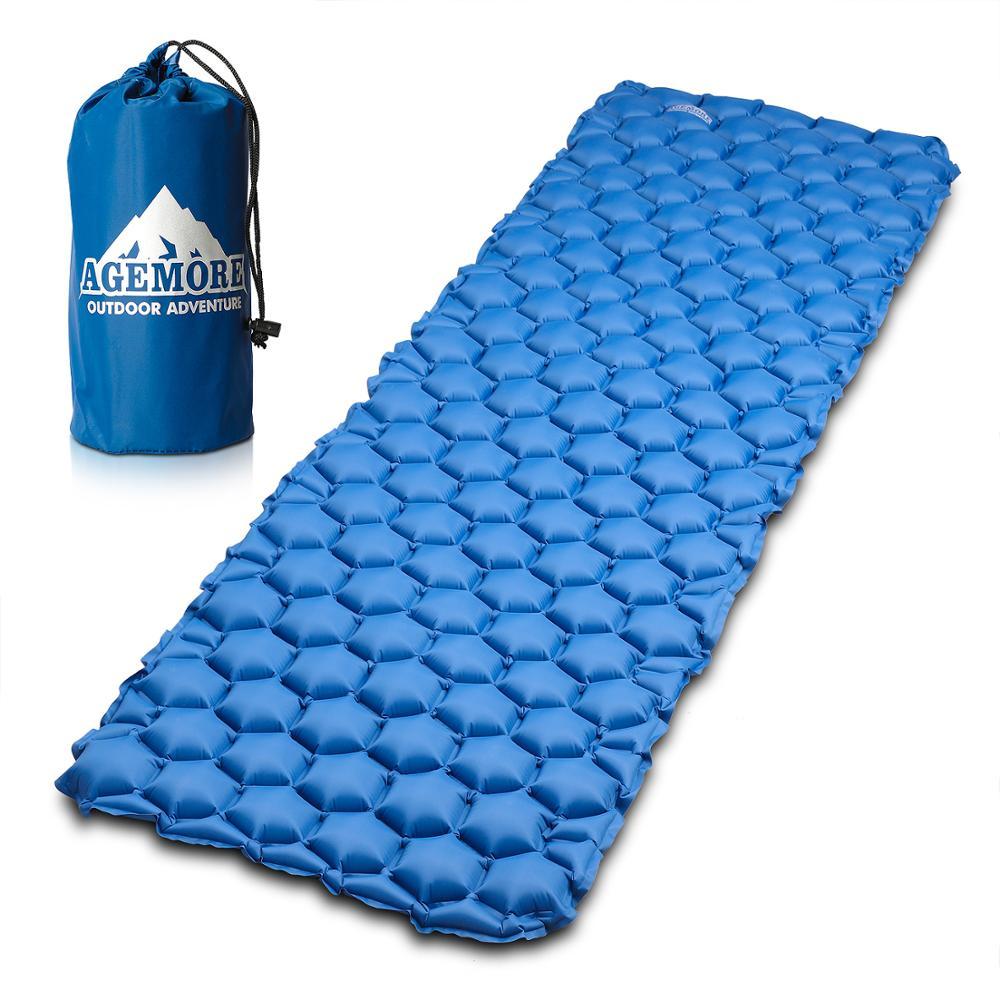 Походный коврик Agemore, надувной мешок, надувная палатка, коврик для сна, Сверхлегкий портативный коврик для пикника, надувной коврик для