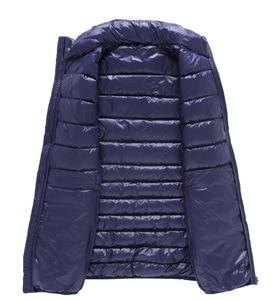 Image 3 - NewBang Brand 6xl 7xl Plus Vest Ultra Light Down Vest Men Portable Sleeveless Lightweight Warm Jacket White Duck Down Vests