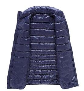Image 3 - NewBang Chaleco ultraligero para hombre, 6xl, 7xl Plus, portátil, sin mangas, ligero, cálido, chaqueta de plumas de pato blanco