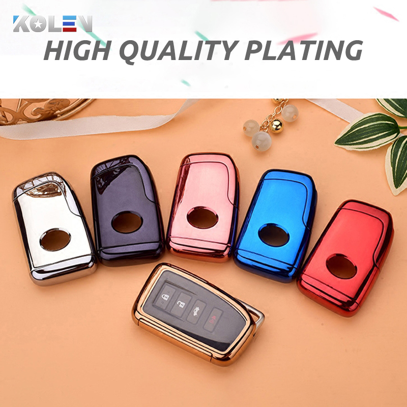 cheapest TPU PC Material Car Key Case Cover For Lexus NX ES GS RX IS RC LX 200 250 350 450H 300H ES200 Auto Remote Key Holder Shell Fob