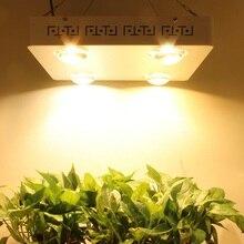 Cree cxb3590 400w 3500k cob led cresce a luz espectro completo 48000lm = hps 600w lâmpada de crescimento da planta interior iluminação painel