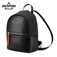 BOPAI Fashion Mini Women Backpack Laptop Purse Travel Waterproof Small Business Backpack Ladies Bags