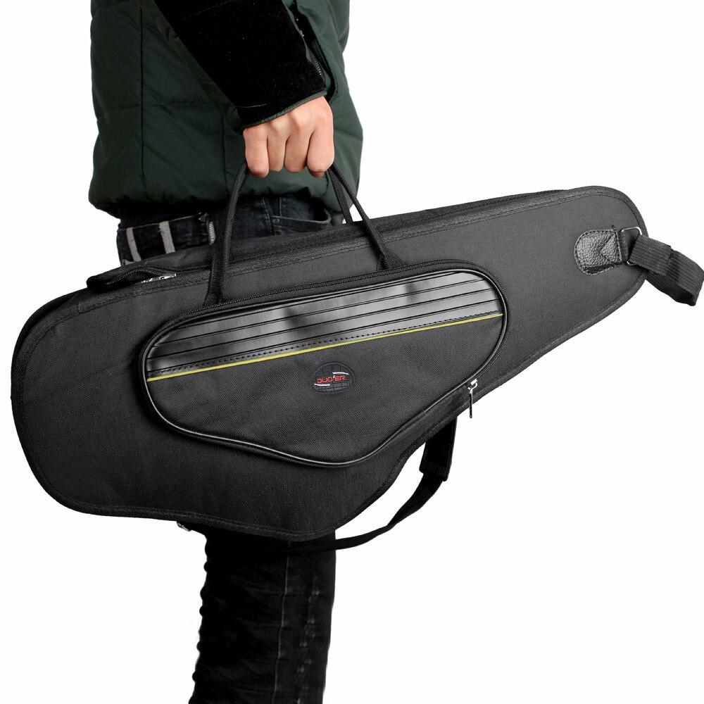 600D Water-resistant Oxford Cloth Bag Cotton Padded Advanced Fabrics Sax Soft Case Adjustable Shoulder Strap For Alto Saxophone