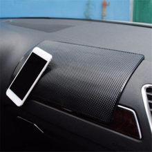 Tapis antidérapant de voiture Auto Silicone intérieur tableau de bord téléphone anti-dérapant tapis de rangement tampons
