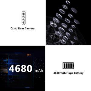Image 2 - Global Version Blackview A80 Pro 4GB+64GB 4680mAh Mobile Phone Quad Rear Camera 6.49 Waterdrop Cellphone 4G Celular Smartphone