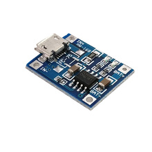 Protection-Board Module Lithium-Battery 1A TP4056 Micro-Usb/type-C 18650 with One-Plate