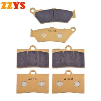 Motorcycle Front & Rear Brake Pad For MOTO GUZZI 1100 California Special 1999-2000 California Jackel 1994-2001 California EV image