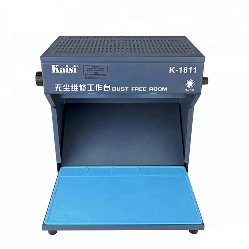 LCD Working Desktop Refurbish Cleaning Room Free Phone Dust Dust Room For Equipment 295X205mm Anti Working Workbench