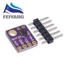 10PCS SHT31 SHT31 D Temperatura Sensor de Umidade Módulo Microcontrolador IIC Fuga I2C Tempo 3V 5V Compatível Para Arduino