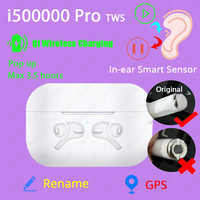 Oryginalny i500000 Pro tws 1:1 w uchu Blutooth słuchawki Mini bezprzewodowy sport słuchawki słuchawki stereo elari PK Aire 2 3