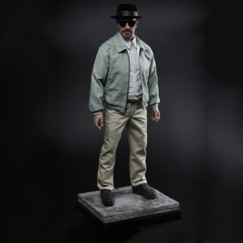 1/4 Statue CGL TOYS MS01 Walter White Biohazard Scholar Figure Collection Model image