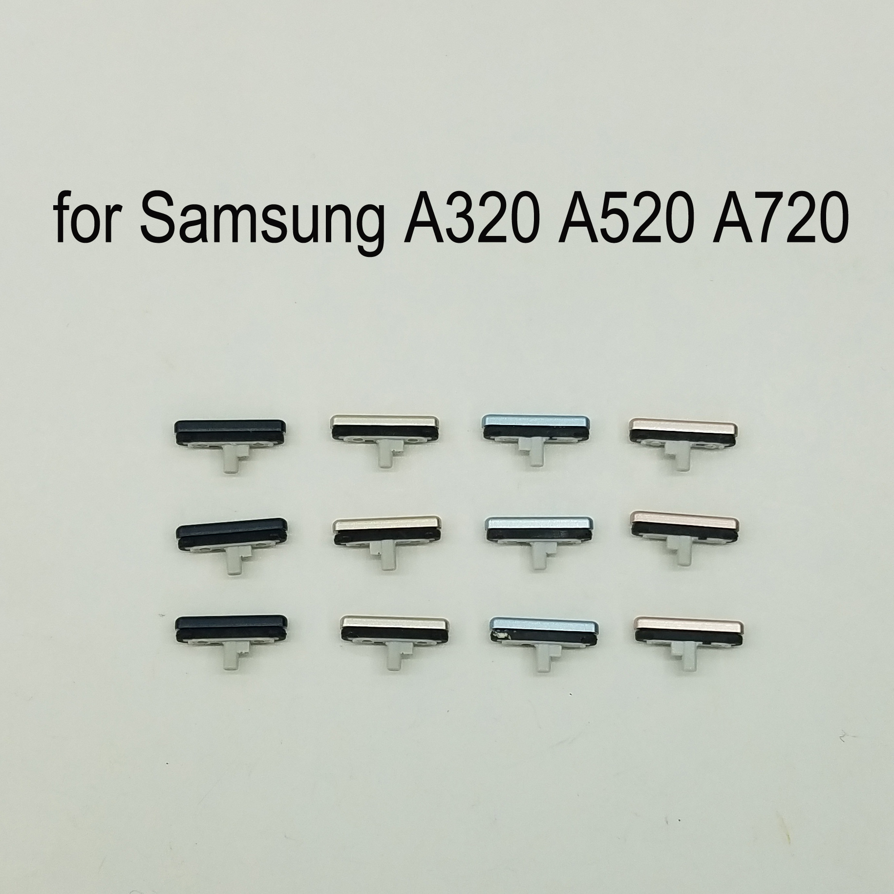 3pcs For Samsung Galaxy A3 A5 A7 2017 A320 A520 A720 Phone Flex Cable Housing Frame Volume Power Button Side Key