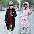 Зимние куртки для девочек, Детская уличная теплая одежда, плотные пальто, ветрозащитные Детские хлопковые куртки, детская зимняя верхняя од...