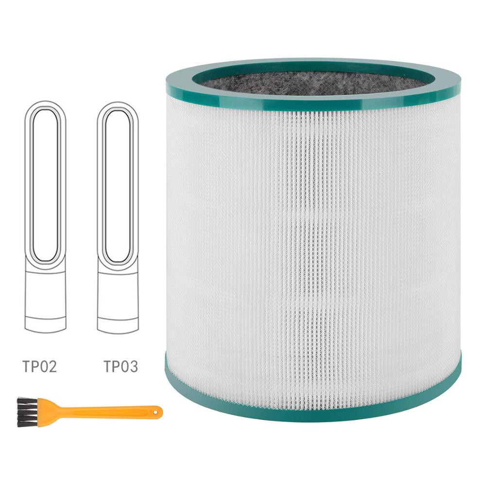Replacement Air Purifier Filter For Dyson Tower Purifier Pure Cool Link AM11 TP00 TP02 TP03 Compare To Part # 968126-03
