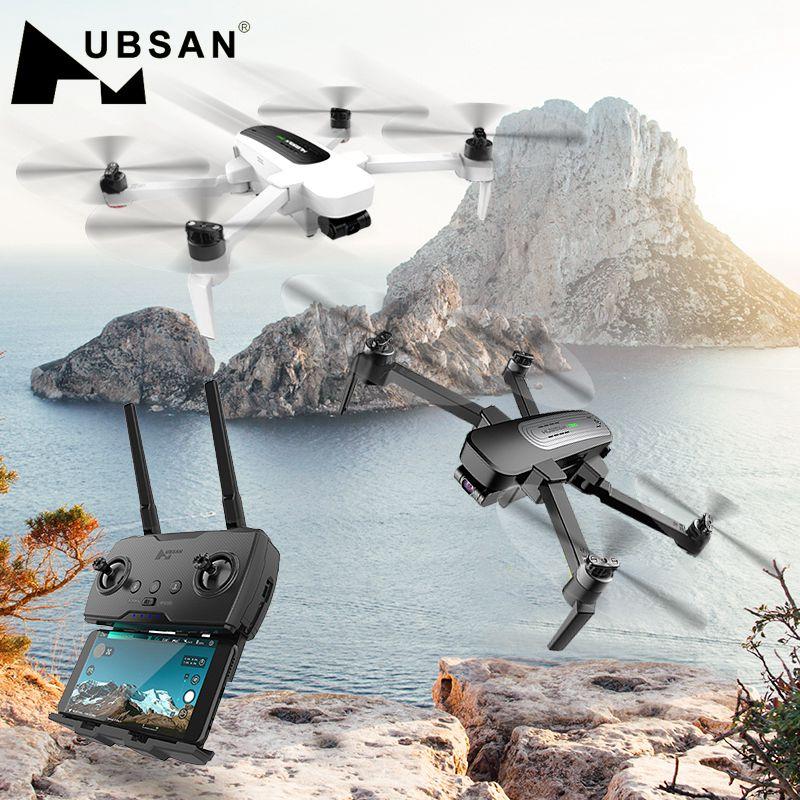 Hubsan H117S Zino GPS 5.8G 1 KM Dobrável Braço Câmera 3-Eixo Cardan FPV com 4 K UHD RC Zangão Quadcopter RTF Alta Velocidade