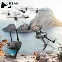 Oryginalny Hubsan H117S Zino GPS 5.8G 1KM składane ramię FPV z 4K UHD aparat 3-osiowy Gimbal zdalnie sterowany dron quadcopter RTF o wysokiej prędkości