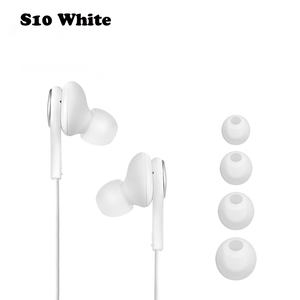 Image 2 - SAMSUNG AKG Earphones EO IG955 wholesale 5/10/20/50 piece In ear Mic Wire Headset for SAMSUNG Galaxy S10 S10+ S9 S8 Smartphone