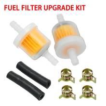 60 mm aparcamiento calentador Diesel gasolina filtros de combustible Kit actualizado de centralitas Webasto coche de la motocicleta en línea filtros de combustible