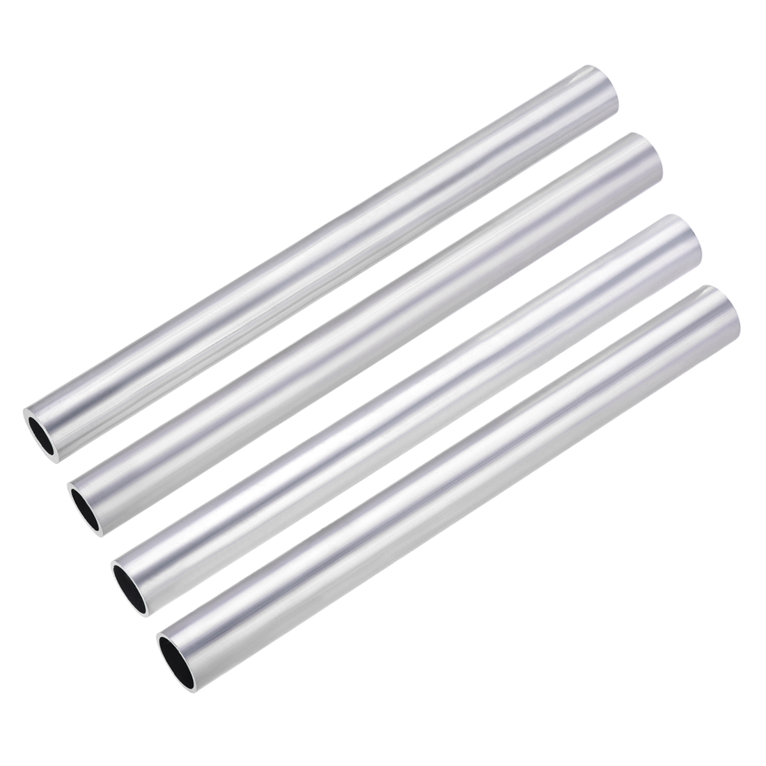 uxcell 1pc 6063 Aluminum Round Tube 21mm-30mm OD 300mm Length Seamless Straight Tubing for DIY air intake, frames