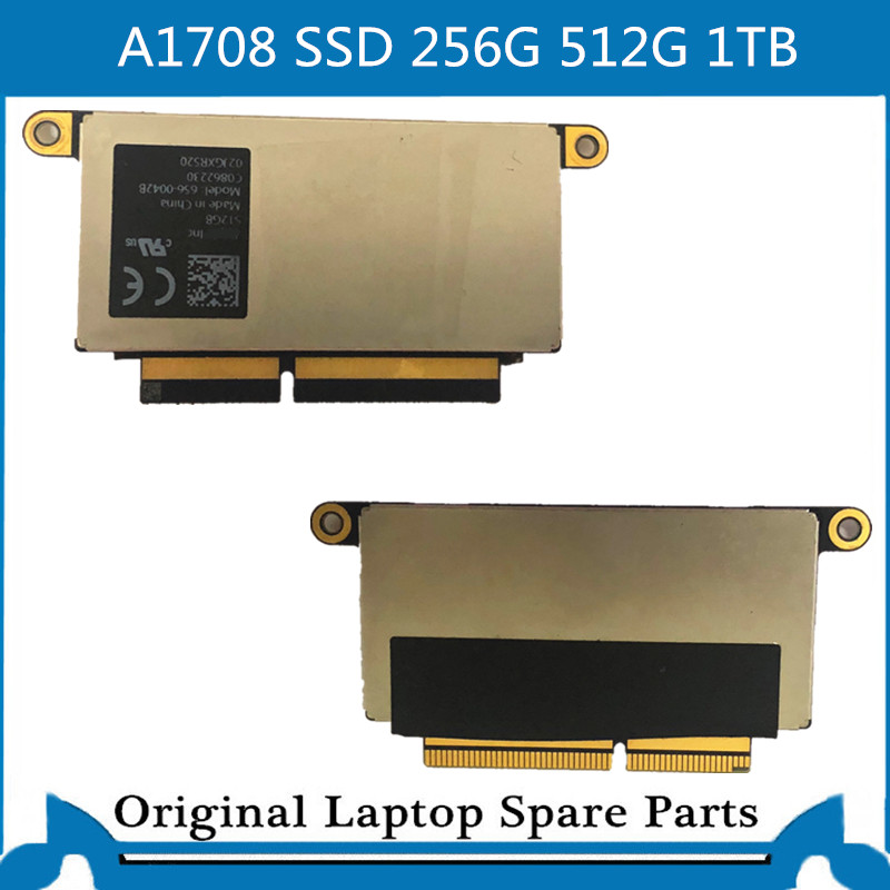 Used for Macbook Pro Retina 13' A1708 SSD 256GB 256G PCI E SSD 512G 1TB SSD 2016 2017|Laptop LCD Screen| |  - title=