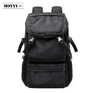 Image 1 - MOYYI 2019 nouveau Style sacs à dos léger avec grande capacité détachable rabat deux en un sacs à dos hommes sac