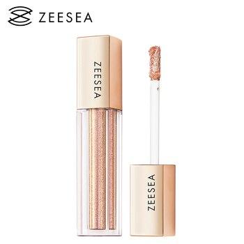 ZEESEA New Liquid Professional Eye Shadow Shimmer Shinny Glitter Eyeshadow Waterproof Long Lasting Makeup Cosmetic недорого