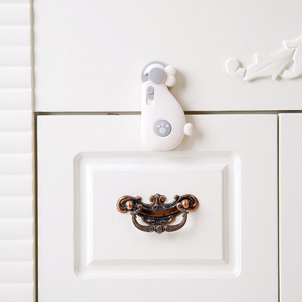 Lovely Whale Shaped Cabinet Security Lock Baby Care Buckle For Door Drawer Wardrobe Protecting Children Safety Lock