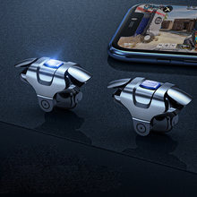 New Arrival Metal Phone Adjustable Gamepad Joystick For PUBG Mobile Gaming Trigger Fire Button L1R1 Shooter Controller