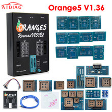 Pełna Orange5 v1.36 programista narzędzie diagnostyczne z pełny Adapter orange5 ECU programista narzędzia diagnostyczne pomarańczowy 5 akcesoria samochodowe