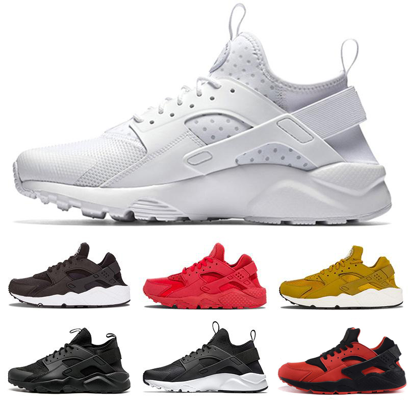 2020 Huarache Ultra 4.0 Hurache Running Shoes For Men Triple White Black Huraches Sports Huaraches Sneakers Harache Mens Shoes