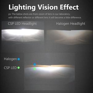 Image 2 - CNSUNNYLIGHT H11 LED H7 H4 H13 9005/HB3 9006/HB4 H1 araç far kiti 6000K ampuller CSP otomatik ön H3 880/881 H8 sis lambaları W/ Fan