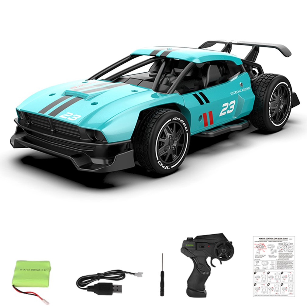 2.4G 4CH 1/24 Alloy RC Cars Radio Control High Speed Chargable Racing Car Drift Driving Toys For Kids Gift 214A 216A 218A