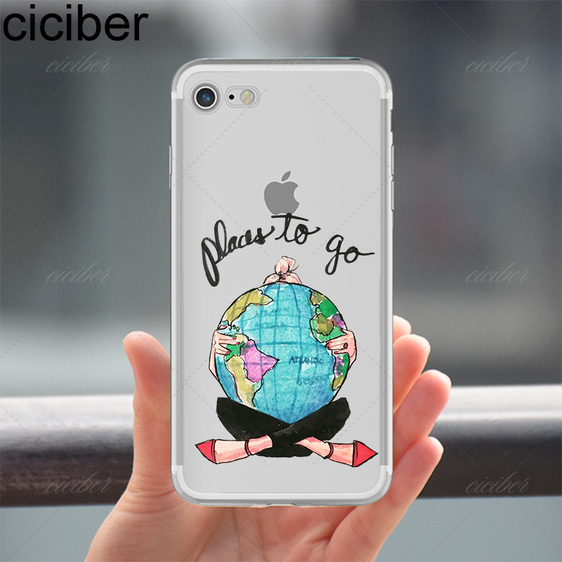 ciciber Luxury Fashion Travel Vacker shopping Girl Design mjuk - Reservdelar och tillbehör för mobiltelefoner - Foto 3