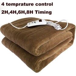 Моющаяся электрическая Одеяло двойной 220V с электрическим подогревом Одеяло коврик один-управление общежития Спальня ковер с подогревом