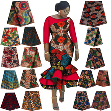 Real dutch wax Ankara Africa batik double print fabric high quality cotton sewing material for wedding dress African tissu 6yard