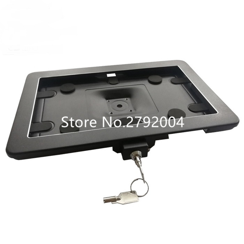 10.5 Inch Android Tablet Pc Wall Mount Case, Aluminum Alloy Tablet Pc Stand For Samsung Galaxy Tab A, Anti Theft Display